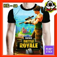 Kaos Fortnite Battle Royale game Android Baju Anak dan Dewasa Murah