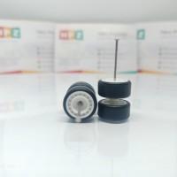 Ban Karet Hotwheels model Euro OZ putih