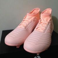 Sepatu Bola Adidas Predator 18.3 Fg Trace Pink Db2002 Original Bnib