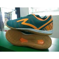 Sepatu Futsal SPECS HORUS IN tosca/orange - Hijau Tosca, 43