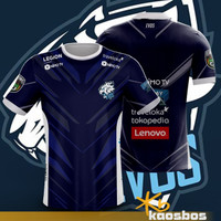 Kaos Jersey EVOS Team Mobile Legends Baju Esport AOV PUBG Replika