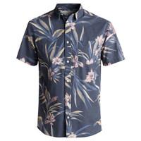 Kemeja Quiksilver Longa locka Shirt Short Sleeve EQYWT03608 Original