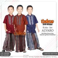 Koko Set Alvaro By Thaluna Kids - Koko + Celana Sarung Anak