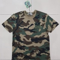 T-shirt / kaos Bape x Undefeated Camo Army Edition Premium