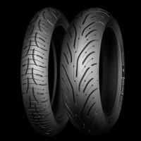 Ban Michelin Pilot Road 4 , ukuran 160/60 dan 120/60 R 17