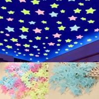 Dekorasi Wall Sticker Dinding Kamar Bintang / Glow in The Dark sticker