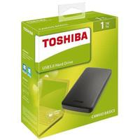 Toshiba Canvio Basic 1TB USB 3.0 - HDD Hardisk External Portable