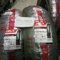 PAKETAN BAN LUAR AEROX FDR SPORT XR UKURAN 140/70-14 DAN 120/70-14