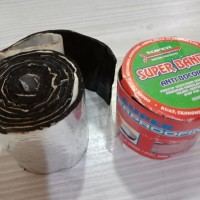 superband tambal bocor asbes/lakban perekat asbes/lakban atap/lakban g