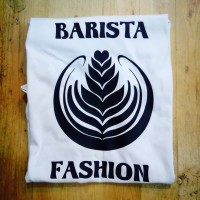 tshirt kaos baju atasan distro combed 30s unisex barista fashion