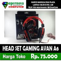 HEAD SET GAMING AVAN A6