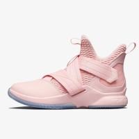 Sepatu Basket Nike Lebron Soldier XII SFG Pink Original AO4054-900