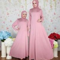 HOT SALE Coupel Ibu Dan Anak Baju Busana Muslim Gamis Salsa Couple