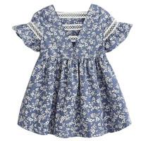 dress anak perempuan motif batik dari kiddos fashion