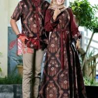 baju batik couple cewek cowok gamis busana muslim dress wanita Murah