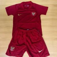 Jersey Baju Bola Grade Ori Timnas Indonesia Home Kids 2019