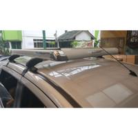 Roof Rack Mobil Platinum model kotak paket lengkap + KAKI