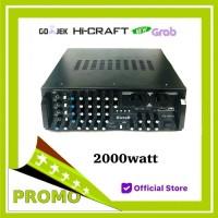 power amplifier karaoke hicraft 2000watt