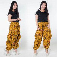 Celana Batik Giva Long Pants Aladin Jogger Wanita All Size
