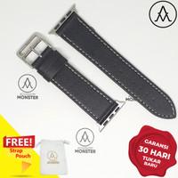 AL2SLBLK Apple Watch Iwatch Hermes Strap Single Tour Leather Quality