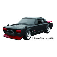 Jada JDM 1/64 - 1971 Nissan Skyline 2000 GT-R -Black