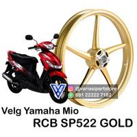 Velg Yamaha Mio Merk Racingboy (RCB) SP522 Gold Ring 140 x 17 (Belakan