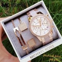 Jam Tangan Wanita Merk Michael Kors Original Type : MK 6307 Free Box 3