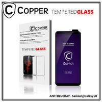 Samsung J8 - COPPER Tempered Glass ANTI-BLUERAY (Full Glue)