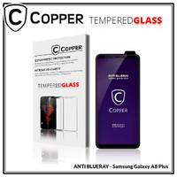 Samsung A8 Plus - COPPER Tempered Glass ANTI-BLUERAY (Full Glue)