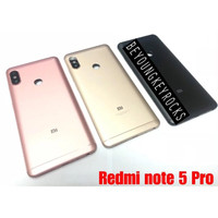 Backdoor Tutup Belakang Xiaomi Redmi Note 5 Pro Original