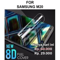 Screen Guard Samsung M20 anti gores full cover layar 3D 4D 5D HYDROGEL