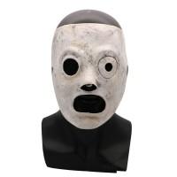 1 Pcs Slipknot Masker Corey Taylor Cosplay Lateks Topeng TV Simpul