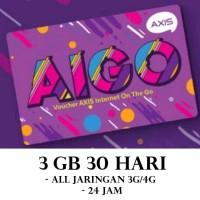 VOUCHER AXIS AIGO 3GB