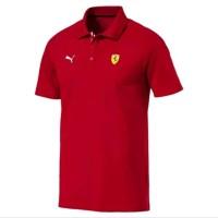 Polo shirt Tshirt Kaos kerah Puma Ferrari Terlaris