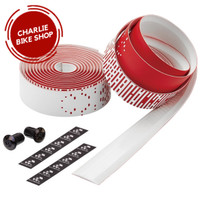 CICLOVATION Bar Tape Leather Touch Shooting Star Red White
