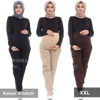 Celana Hamil Panjang Celana Kerja Hamil Wanita Cewek Baju Hamil XXL