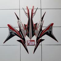 stiker Motor striping Vario Techno 125 Fi 2014 Merah