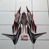 Stiker Motor striping Vario Techno 125 Fi 2012 merah