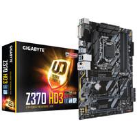 Motherboard Intel Gigabyte GA-Z370-HD3 soket LGA1151 coffeelake gen 8