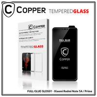 Redmi Note 5A / Prime - COPPER Tempered Glass Full Glue PREMIUM Glossy