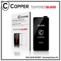 Samsung A9 - COPPER Tempered Glass Full Glue PREMIUM Glossy