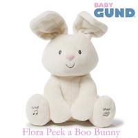 Gund Baby Flora The Bunny Peek A Boo doll - rabbit