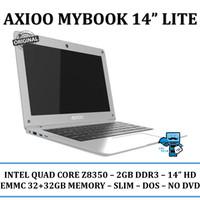 AXIOO MYBOOK LITE INTEL Z8350 2GB 32GB EMMC   32GB MMC NON DVD 14 DOS