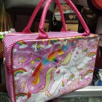 Travel Bag Little Pony / Koper Anak / Tas Renang Kuda Poni uk. Besar