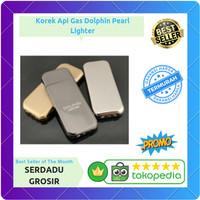 Korek Api Gas Dolphin Pearl Lighter Mancis - DOL077
