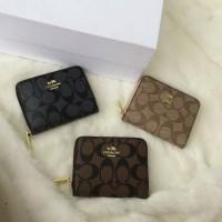 Dompet branded wanita coach / dompet kartu coach / coach mini wallet