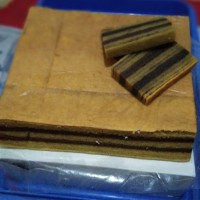 Kue Lapis Legit Coklat (Kue Lebaran)