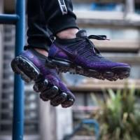 sepatu nike vapormax black night purple premium ori