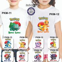 Baju / Kaos Anak / Laki-Laki / Perempuan design POKEMON