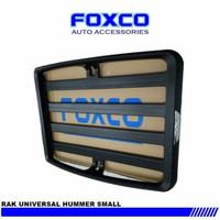 Roof Rack Foxco / Rak Mobil Foxco Universal / Paket Rack + kaki Mobil